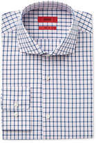 HUGO BOSS HUGO Men's Fitted Check Dress Shirt