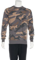 Valentino Camouflage Cashmere Sweater w/ Tags