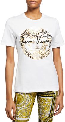 Versace Gianni Medusa Logo T-Shirt