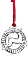 Orrefors Reindeer Ornament