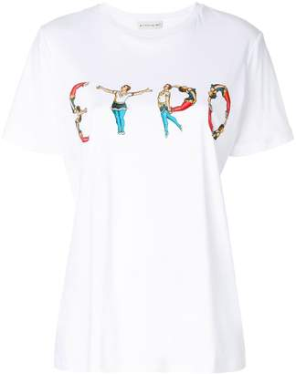 Etro circus print logo T-shirt