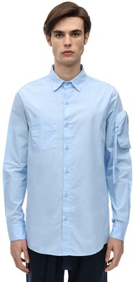 Cotton Utility Shirt W/ Sleeve Pocket