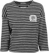 Kitsune Marin Cropped Sweatshirt