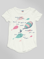Junk Food Clothing Kids Girls Wherever You Fly Tee-sugar-s