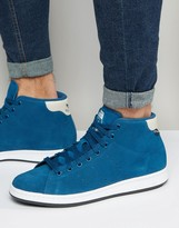 adidas Stan Smith Winterized Sneakers In Blue S80499