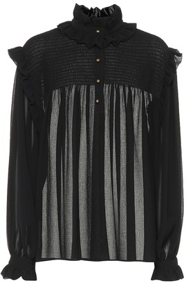 Philosophy di Lorenzo Serafini Crepe blouse
