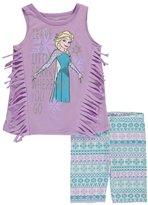 "Disney Frozen Little Girls' ""Sweet Sparkler"" 2-Piece Outfit"