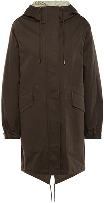 Theory Cotton-twill Hooded Parka
