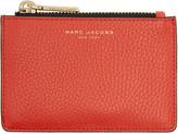 Marc Jacobs Red Gotham Zip Card Holder