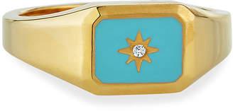Tai Turquoise Signet Ring