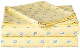 Southern Tide Skip Jack Printed Cotton Sheet, Twin, Skipjack Moonlight Yellow
