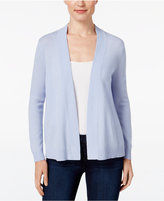 Charter Club Petite Cashmere Open-Front Cardigan, Only at Macy's