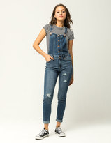 Celebrity Pink Destructed Womens Overalls