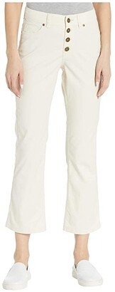 Toad&Co Earthworks Kick Flare Pants (Salt) Women's Casual Pants