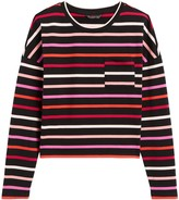Banana Republic Petite Boxy Stripe T-Shirt