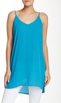 Lily White Solid Tank Top