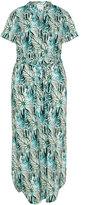 Junarose Plus Size Floral print maxi dress