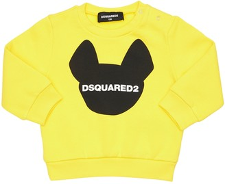 DSQUARED2 Ciro Logo Printed Cotton Sweatshirt