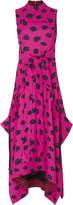 Proenza Schouler Leopard-Print Crepe Dress
