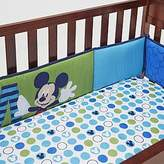 Disney Baby Mickey Mouse 4-Piece Secure-Me Bumper