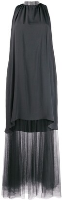 Fabiana Filippi Sheer Detail Dress
