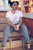 Forever 21 Plus Size Gingham Ankle Pants