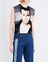 Ground Zero Johnny cropped woven top