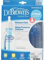 Dr Browns Baby / Child Dr. Brown's 3 Pack BPA Free Polypropylene Bottle 8 oz - Made from BPA free, polyproylene plastic Infant by Dr. Brown's