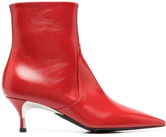 Furla Kitten-Heel Ankle Boots