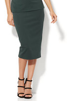 New York & Co. 7th Avenue - Pull-On Knit Pencil Skirt - Petite