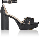 Barneys New York WOMEN'S PAULA LEATHER PLATFORM SANDALS