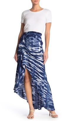 Young Fabulous & Broke Yfb By Dreamboat High/Low Maxi Skirt