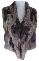 Antik Batik Beige Rabbit Jacket for Women
