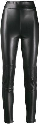 Ermanno Scervino Skinny Wet-Look Leggings
