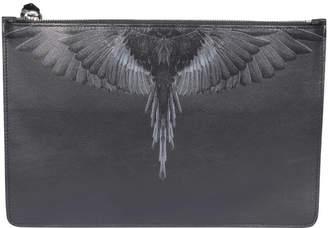 Marcelo Burlon County of Milan Black Wings Pochette
