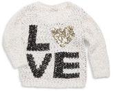 Pinc Premium Little Girl's Sequin Sweater