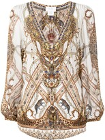 Thumbnail for your product : Camilla Mind Your Manor silk blouse