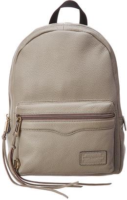 Rebecca Minkoff Medium Zip Leather Backpack