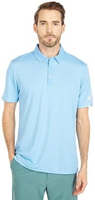 adidas Heat.Rdy Base Polo Shirt (Power Pink Melange) Men's Clothing