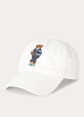 Ralph Lauren Preppy Bear Chino Cap