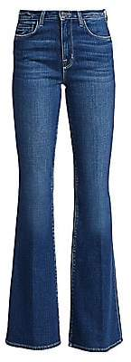 L'Agence Women's High-Rise Bell-Bottom Jeans