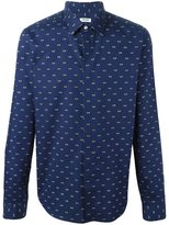 Kenzo eye print shirt - men - Cotton/Spandex/Elastane - 39