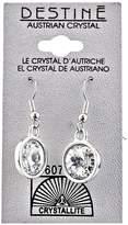 Crystallite Destine Rivoli Dangle Earrings