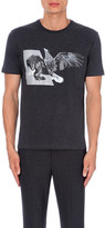 Neil Barrett Hybrid-print cotton-jersey t-shirt