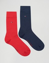 Tommy Hilfiger Classic 2 Pack Socks In Multi