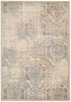 Nourison Graphic Illusion GIL09 Area Rug in Ivory