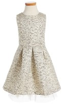 Ruby & Bloom Toddler Girl's Jacquard Fit & Flare Dress