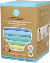 Charlie Banana 2-in-1 6-Piece Reusable Diapers