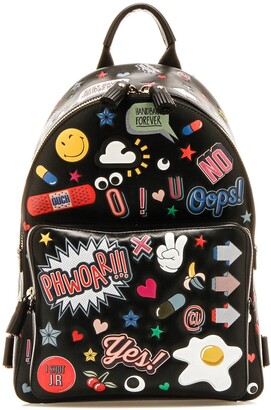 Anya Hindmarch All Over Print Backpack