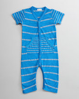 Splendid Littles Chambray Mixed-Stripe Playsuit